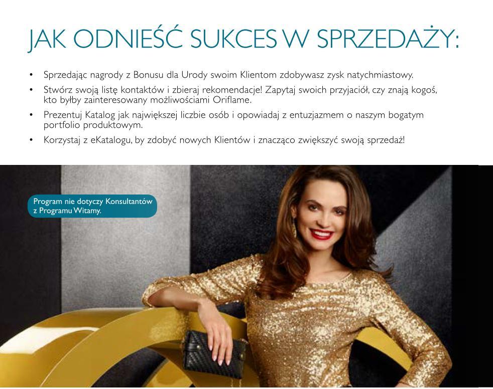 Katalog Oriflame 13 2015 bonus dla urody jak odnieść sukces
