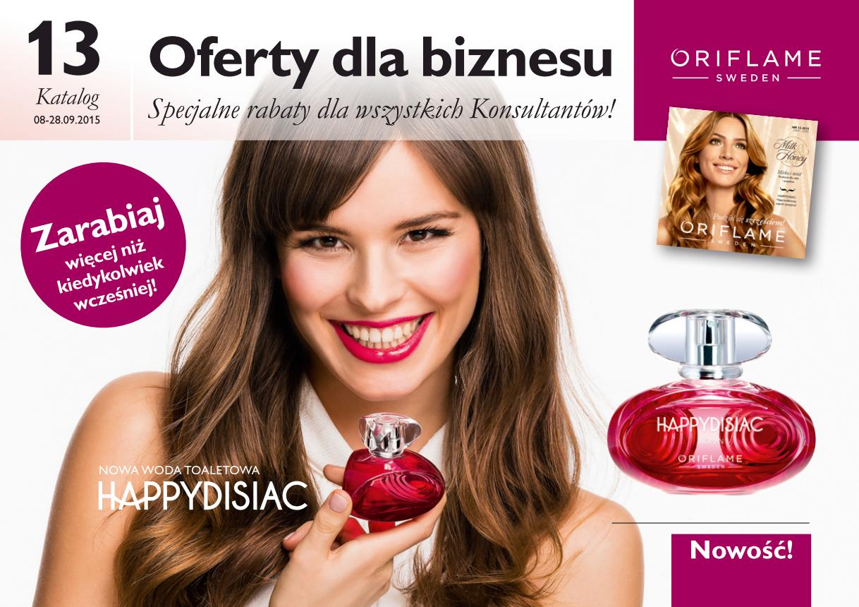 Katalog Oriflame 13 2015 oferta biznesowa okładka