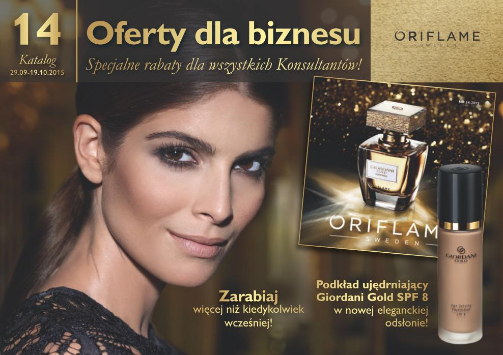 Katalog Oriflame 14 2015 oferta biznesowa 1