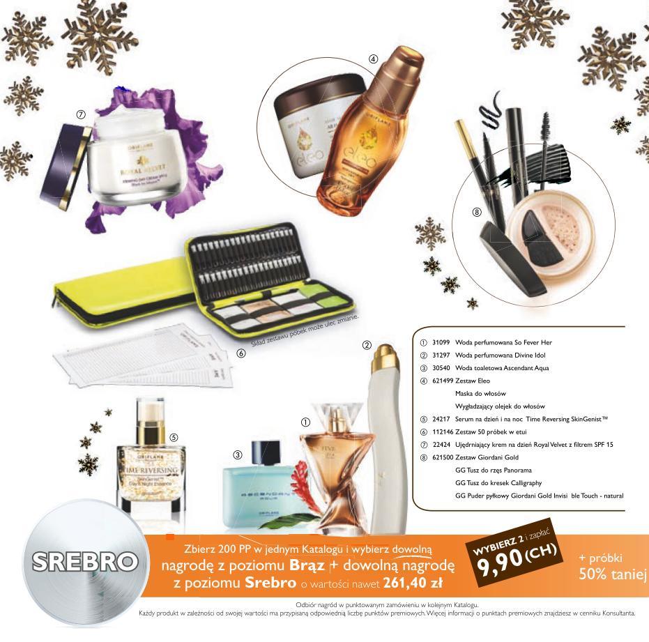 Katalog Oriflame 15 2015 bonus dla urody srebro