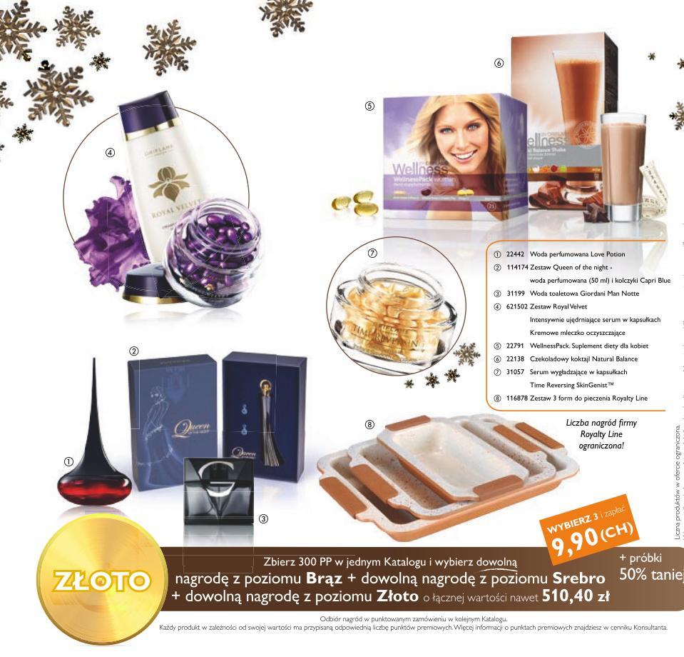 Katalog Oriflame 15 2015 bonus dla urody złoto