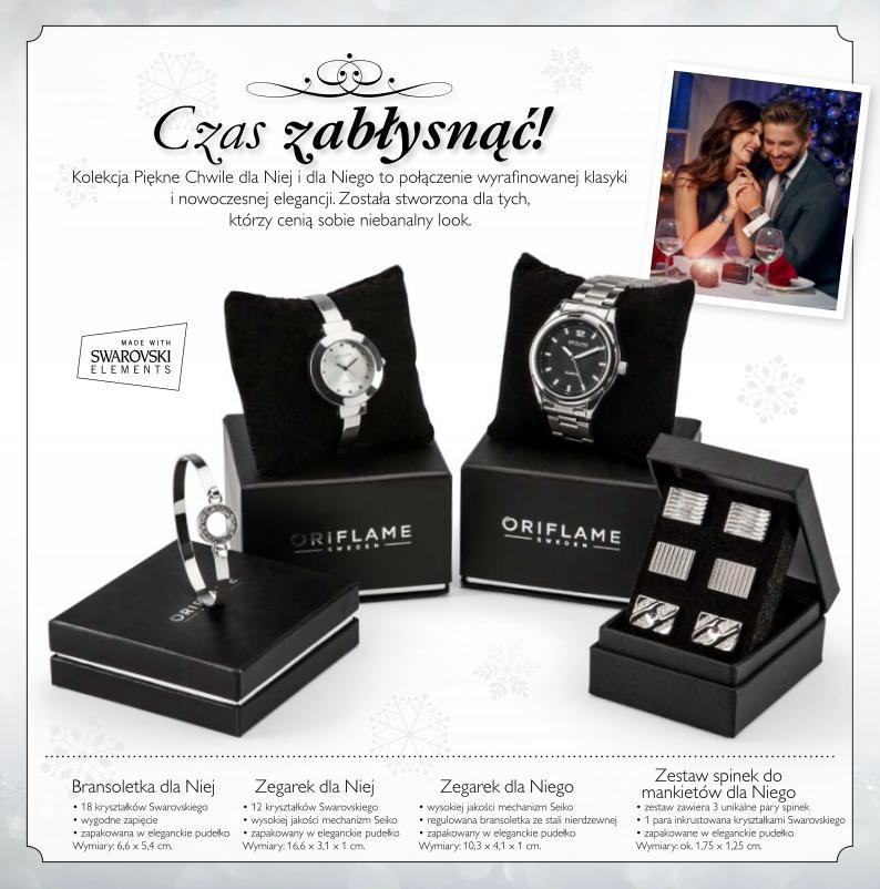 Katalog Oriflame 16 2015 program Witamy biżuteria