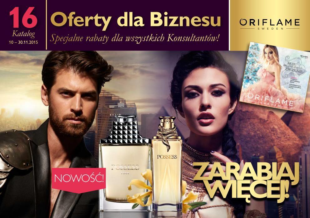 Katalog Oriflame 16 2015_zarabiaj więcej 1