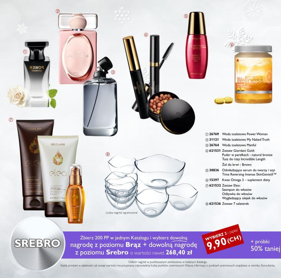 Katalog Oriflame 17 2015_bonus dla urody srebro