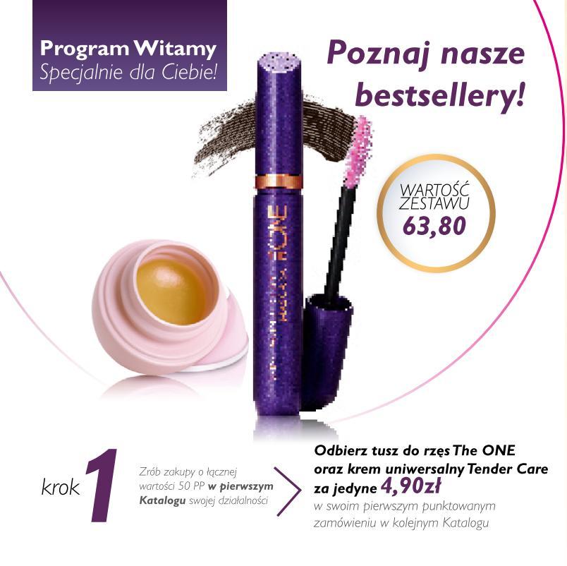 Katalog Oriflame 1 2016 program Witamy krok1