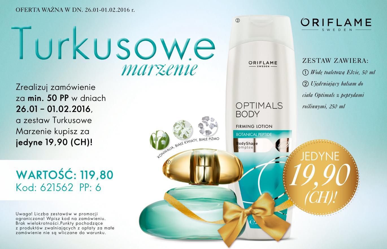 Katalog Oriflame 2 2016 turkusowa oferta