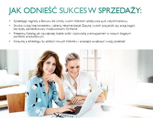 Katalog Oriflame 4 2016 bonus dla urody jak odnieść sukces