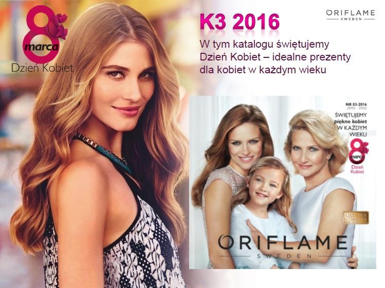 Katalog Oriflantacja  3 2016 prezentacja nowści