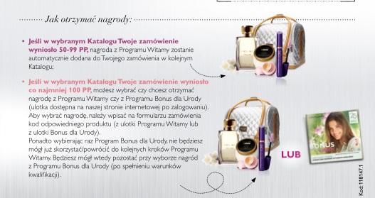 Katalog Oriflame 4 2016 program Witamy zasady