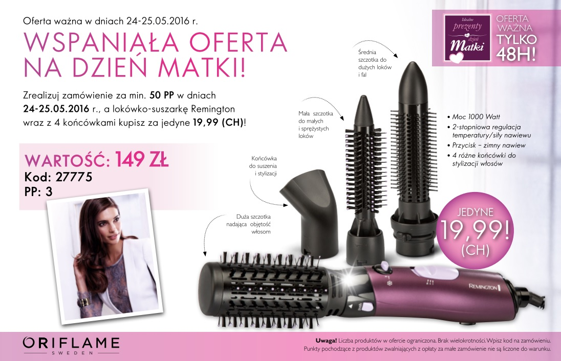 Katalog Oriflame 8 2016 oferta dwudniowa