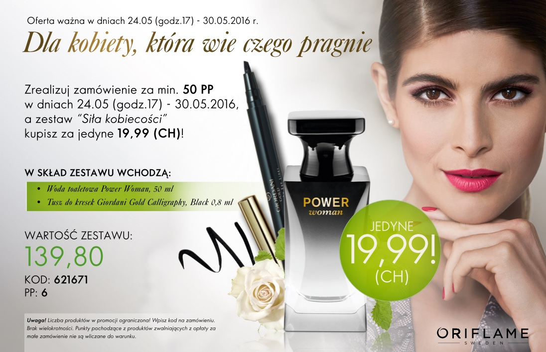 Katalog Oriflame 8 2016 oferta na 1 tydzień