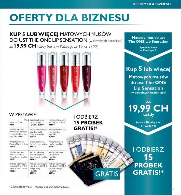 katalog Oriflame 7 2016 oferty dla biznesu 1
