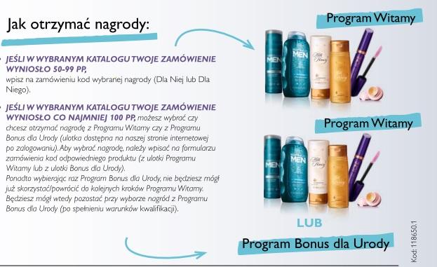 katalog Oriflame 7 2016 program Witamy jak zdobyć nagrody