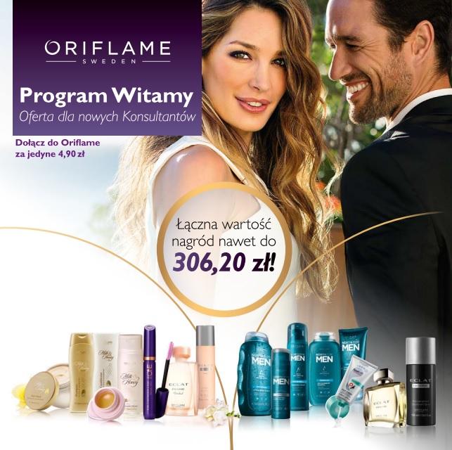 rejestracja w Oriflame