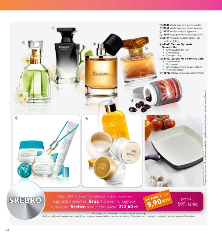 Katalog Oriflame 9 2016 bonus dla urody srebro