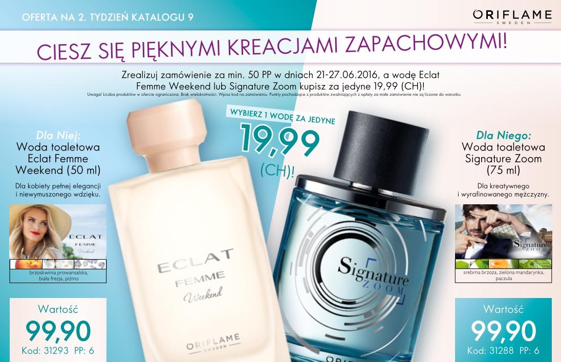 Katalog Oriflame 9 2016 oferta na 2 tydzień