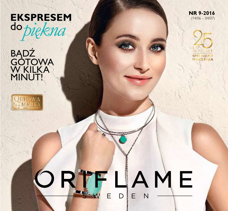 Katalog Oriflame 9 2016 okładka