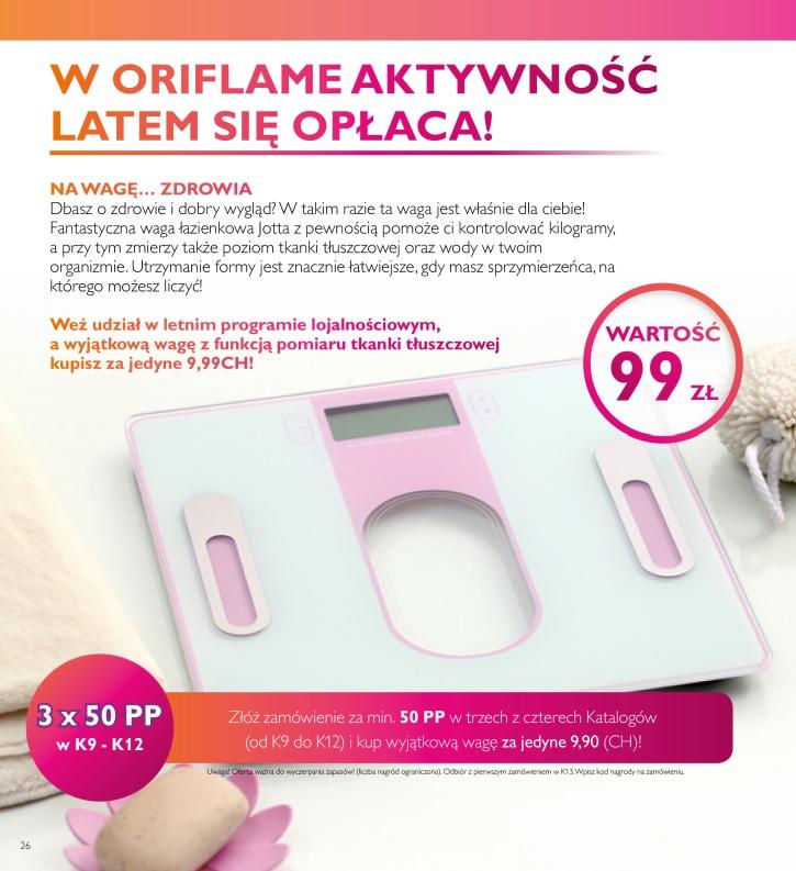 Katalog Oriflame 9 2016 program lojalnościowy 1