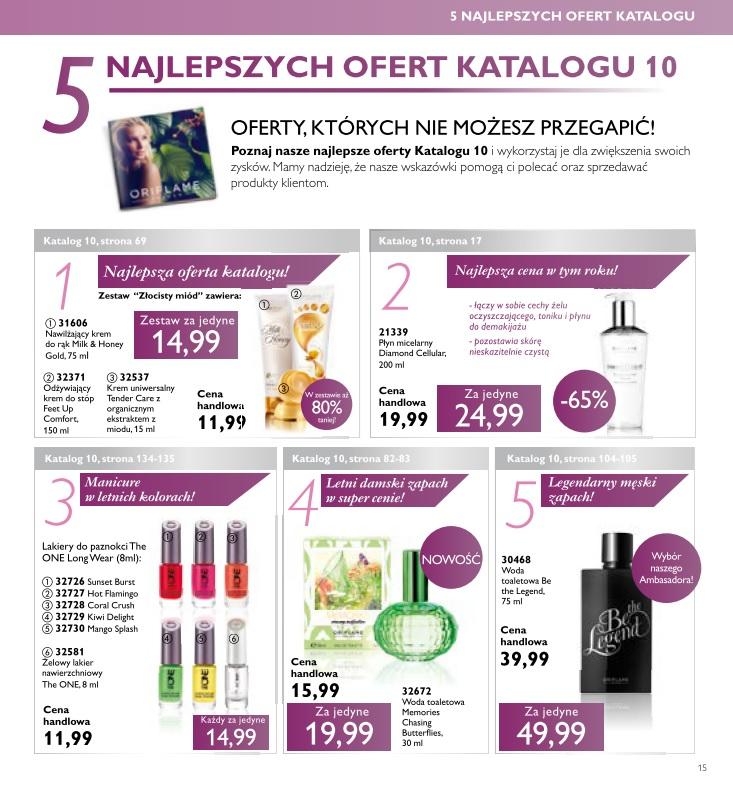 Katalog Oriflame 10 2016 najlepsze oferty