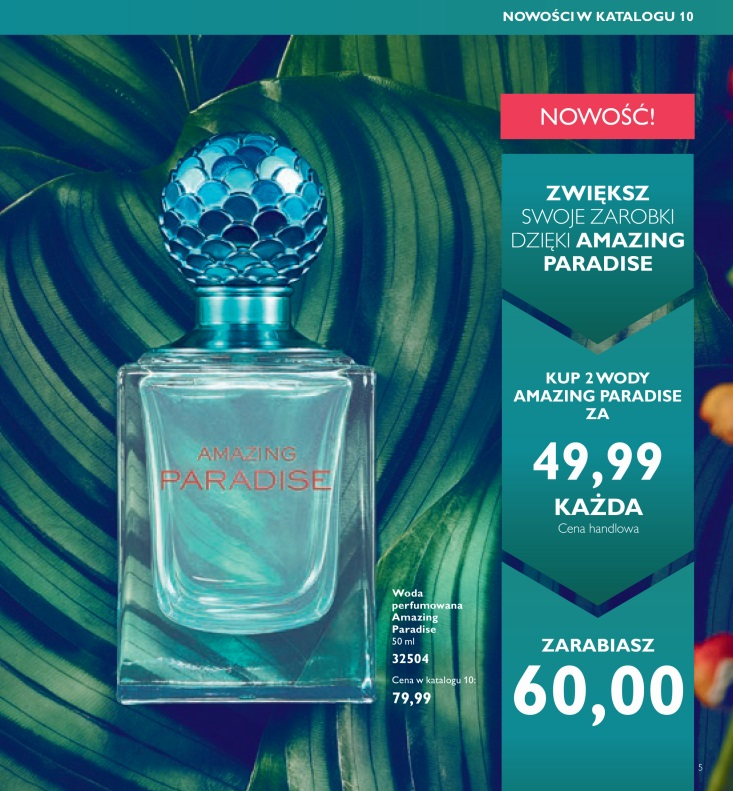 Katalog Oriflame 10 2016 woda amazing paradise 1