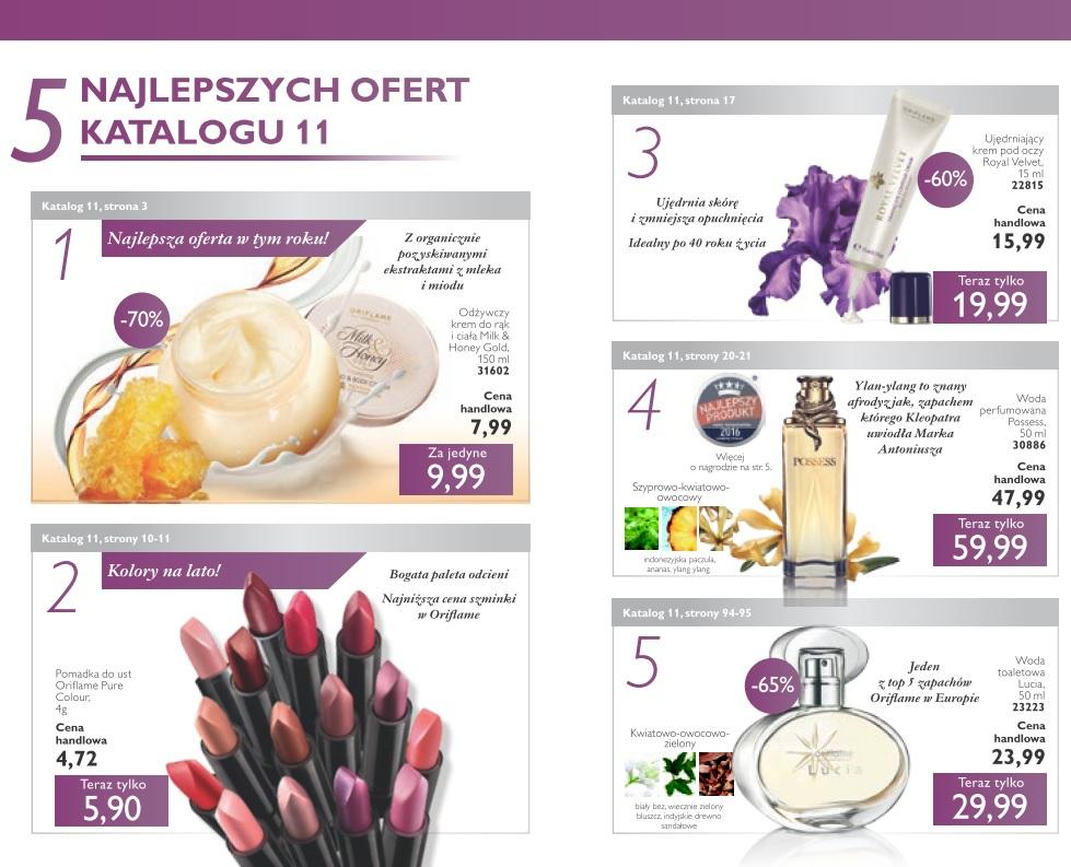 Katalog Oriflame 11 2016 najlepsze oferty