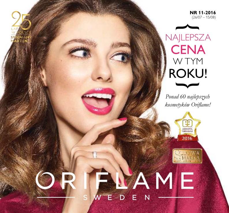 Katalog Oriflame 11 2016 okładka