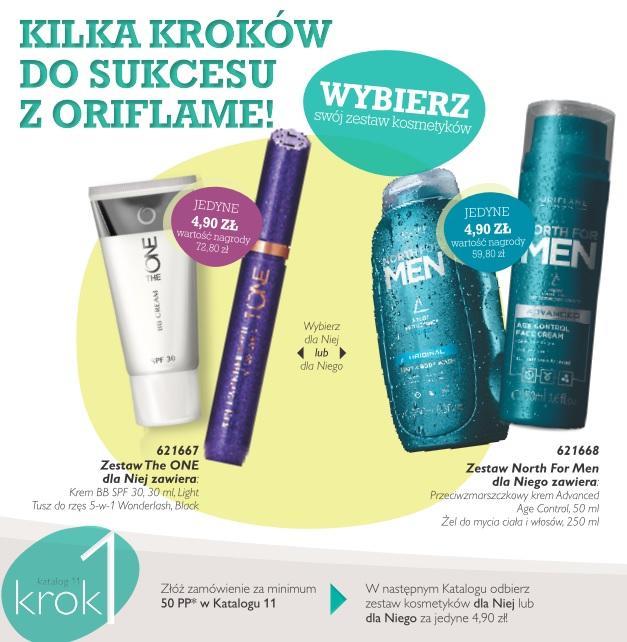 Katalog Oriflame 11 2016 program Witamy krok 1