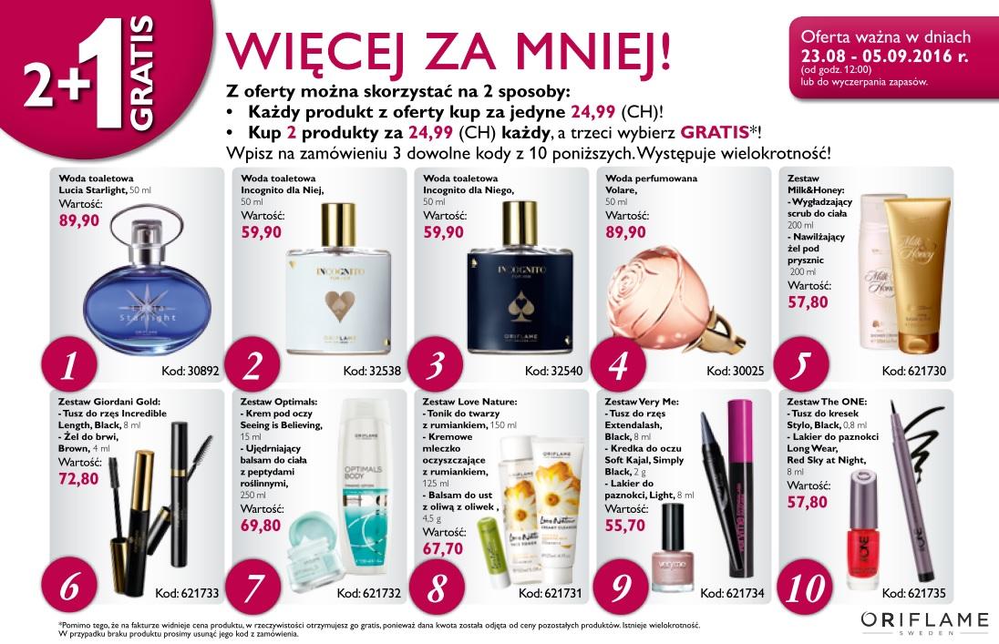 Katalog Oriflame 12 2016 oferta na 2 tydzień