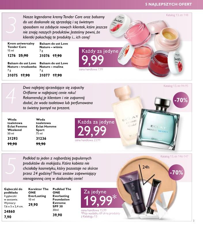 Katalog Oriflame 13 2016 najlepsze oferty