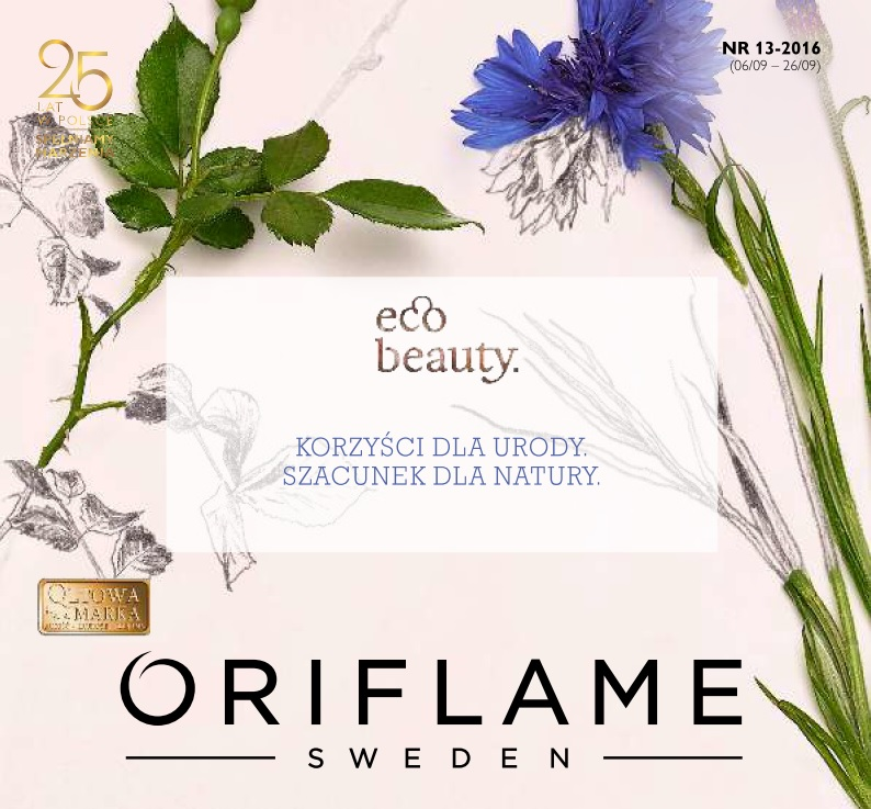 Katalog Oriflame 13 2016 okładka