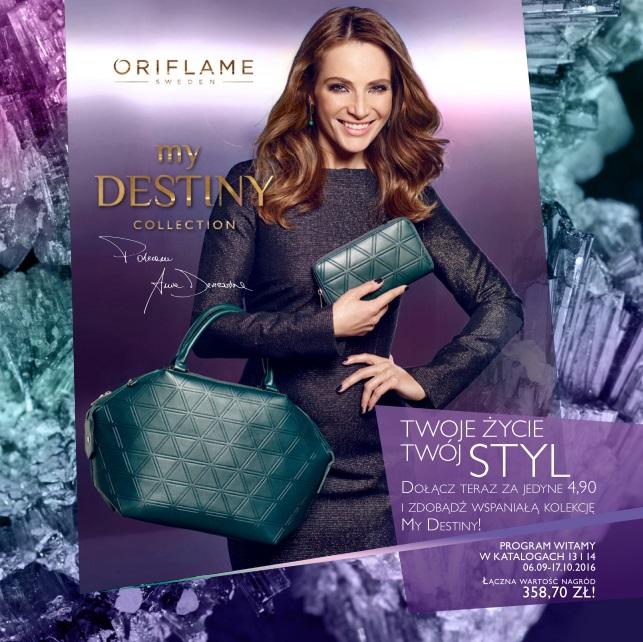 Katalog Oriflame 13 2016 program witamy okładka