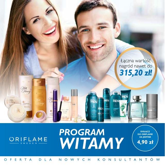 rejestracja Oriflame