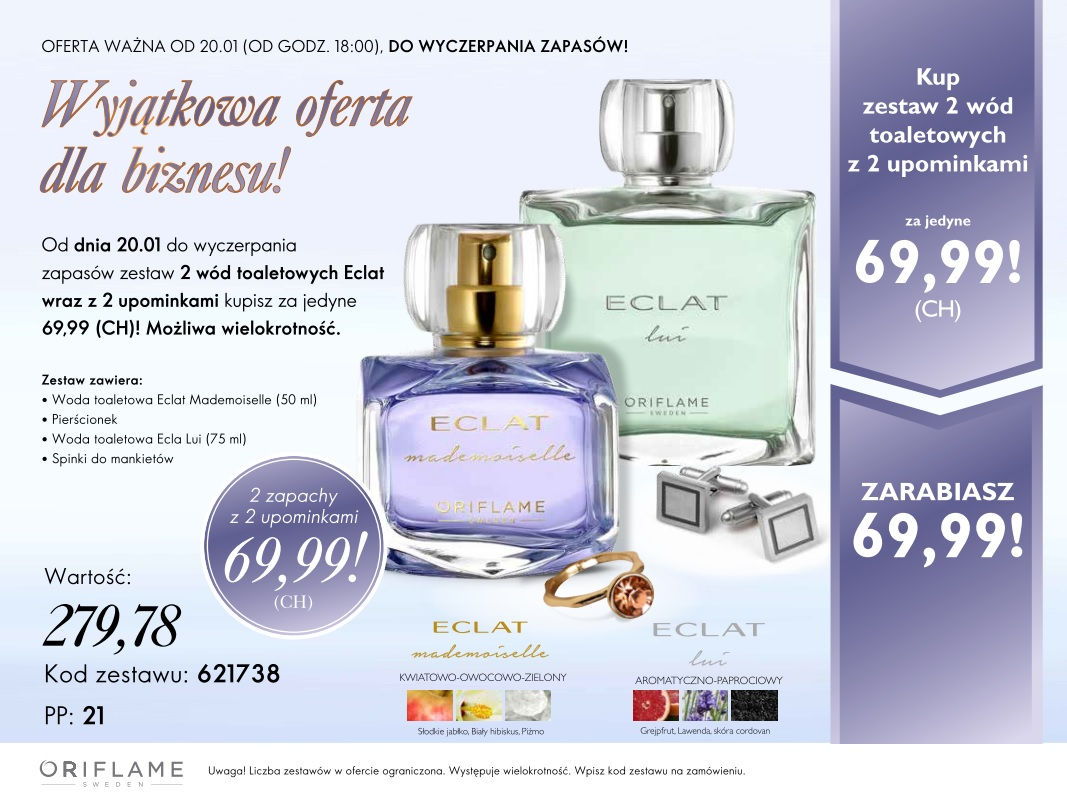Konsultant Oriflame