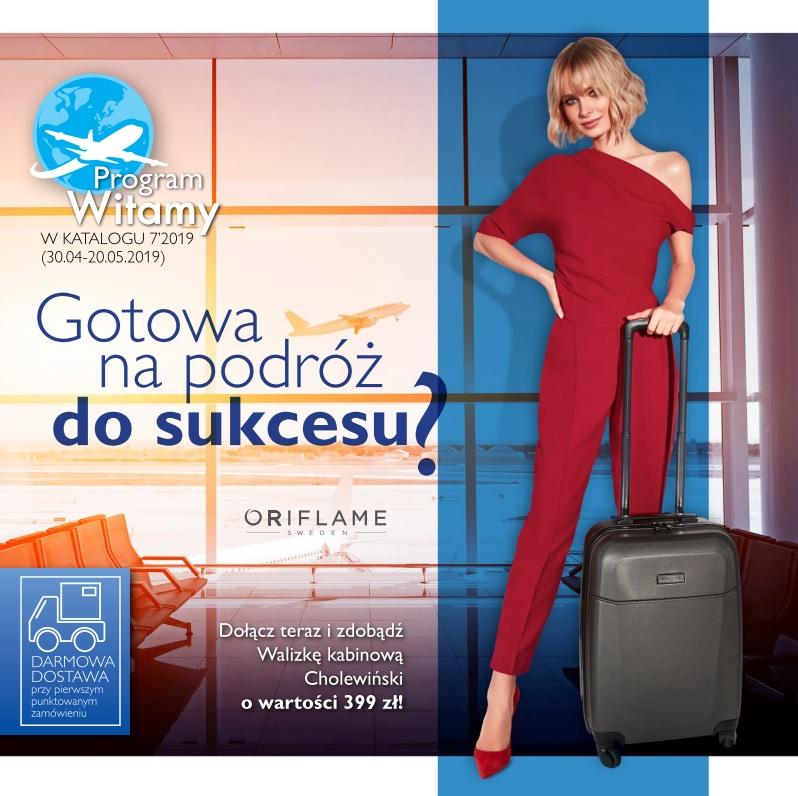 Konsultantka Oriflame program witamy katalog 7 okładka